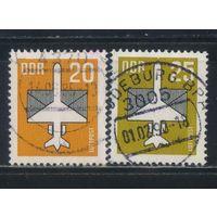 Германия ГДР 1983-7 Авиапочта Самолет Письмо Стандарт #2832,3129