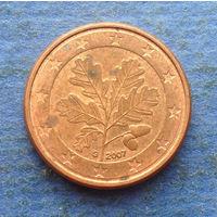 Германия 1 евроцент 2007 G