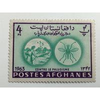 Афганистан 1964. Борьба с малярией