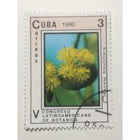 Куба 1990. 5-й Латиноамериканский Ботанический Конгресс