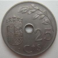 Испания 25 сантимов 1937 г. (d)
