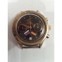 Часы Полет хронограф Космос 1992.Тираж 1000 экз.мех 3133.