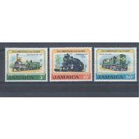 [862] Ямайка 1970.Поезда,локомотивы.