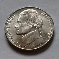 5 центов, США 1998 D