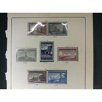 1939 год серия марок Реконструкция Москвы ! с 1 руб! ПРОДАЖА КОЛЛЕКЦИИ!