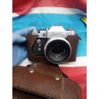 Фотоаппарат Зенит ZENIT 3 М Объектив HELIOS 44 ЭКСПОРТНЫЙ. 1967 год выпуска , первый объектив из серии Гелиос . Аукцион с 1 - го рубля без МЦ Распродажа