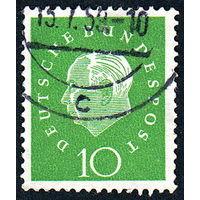 145: Германия (ФРГ), почтовая марка, 1959 год