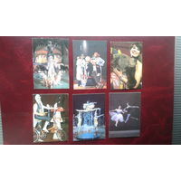 Календарики Цирк 1984,1985,1986,1987,1988