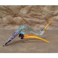 Статуэтка хрустальный Аист, стекло