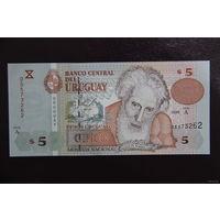 Уругвай 5 песо 1998 UNC