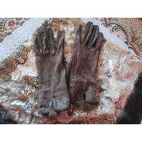 Комплект тонкий платок и перчатки