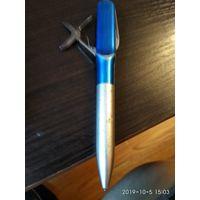 Ручка шариковая с перочинным ножом на три предмета.