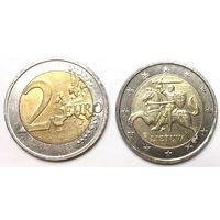 Литва, 2 евро 2015