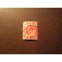 Колония Великобритании - Трансвааль 1902 г.Эдвард -VII.