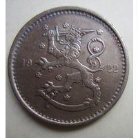 Финляндия. 1 марка 1922.  5-316