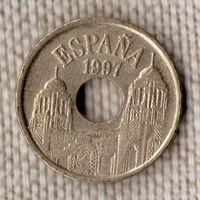 Испания 25 песет 1997/(Oct)