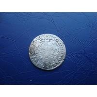 6 грошей (шостак) 1673         (2849)