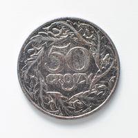 50 грошей 1923 г. (никелированное железо)
