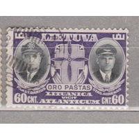 Авиация летчики Смерть пионеров авиации Дариуса и Гиренаса Старая Литва 1934 год лот 6