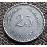 Финляндия. 25 пенни 1935