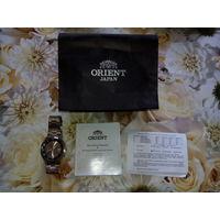 Часы ORIENT Titanium, наручные, мужские, водонепроницаемые