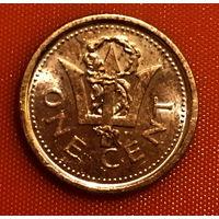 104-18 Барбадос, 1 цент 2009 г.