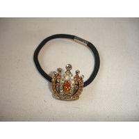 Резинка для хвоста корона Чехия