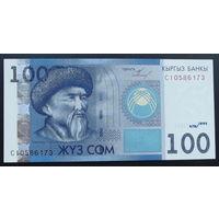 Киргизия. 100 сом 2009 [UNC]