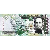 Сан-Томе и Принсипи 100000 добра образца 2013 года UNC p69c