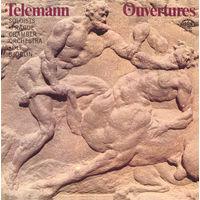 Георг Филипп Телеман, Telemann, Prague Chamber Orchestra, Ulf Bjorlin, Ouvertures, lp 1982