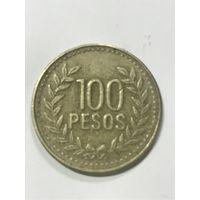 100 песо, 2010 г., Колумбия