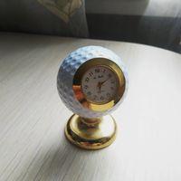 Часы настольные, мяч для игры в гольф, кварцевые, коллекционные, Япония, Quartz