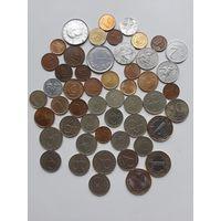 Монеты 50шт.