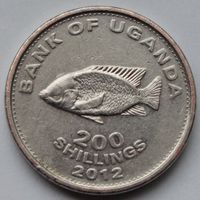 Уганда, 200 шиллингов 2012 г