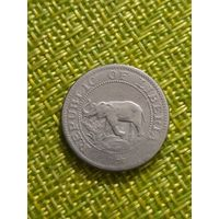 Либерия 5 цент 1961 г (  слон , корабль )