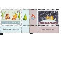 Литва 2013 религия христианство Рождество **