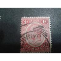 Ямайка, колония Англии 1912 король Георг 5