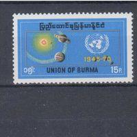 [344] Бирма 1970. Астрономия.Космос.