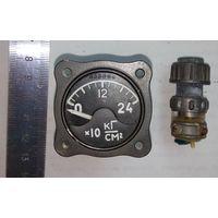 Авиационный давления указатель УИ1-240  ( Самолетный указатель датчика давления)