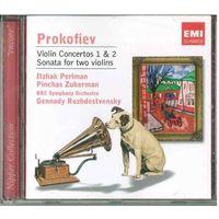 CD Itzhak Perlman / Prokofiev - Violin Concertoss 1 & 2