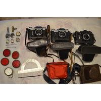 Лот вещей фотоаппараты и др.с рубля за Вашу цену.