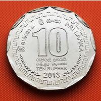 118-06 Шри-Ланка, 10 рупий 2013 г.