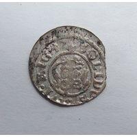 Шилинг 1647 Рига Кристина Августа Ваза Прибалтийские владения Швеции