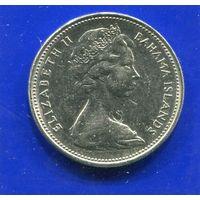 Багамские острова 25 центов 1966