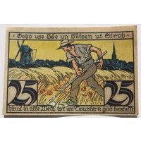 Германия (Notgeld) 25 пфеннигов 1921 год. (#22)