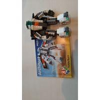 Конструктор Decool Architect 3115 Лётчик будущего 3в1 (аналог Lego Creator 31034