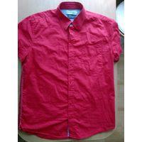 Стильная красная рубашка