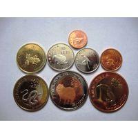 Комплект монет Амазония