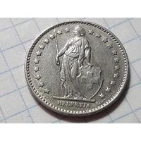 Швейцария 1 франк 1976