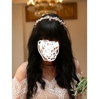 Продам декоративный обруч для волос ручной работы, одет один раз на свадьбу. Торг уместен